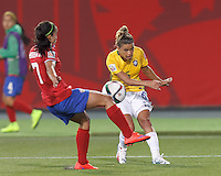 Brazil vs Costa Rica, June 17, 2015