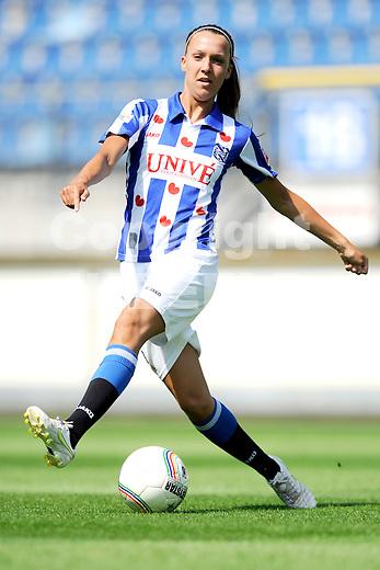 HEERENVEEN - Persdag Heerenveen Erdivisie vrouwen , seizoen 2011-2012, 07-07-2011 Marije Brummel