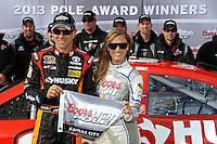 Pole winner Matt Kenseth, (#20)