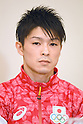 Kohei Uchimura (JPN), <br /> JULY 19, 2016 - Artistic Gymnastics : <br /> Japan Men's Artistic Gymnastics national team send-off press conference <br /> for the Rio 2016 Olympic Games in Tokyo, Japan. <br /> (Photo by AFLO SPORT)