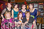 TOASTING: Toasting to the end of Christmas and Womens Christmas in The White Sands Hotel, Ballyheigue on Friday night. Front l-r: Olive O'Donnell, Carol Quinn and Mary Donnellon (Ballyheigue). Back l-r: Karen Freeman, Roisín and Sinead Donnellon and Michelle Tucker        (Ballyheigue)..