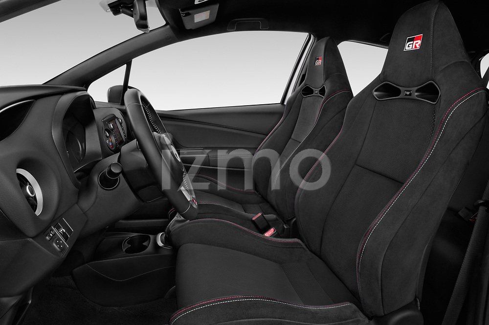 Front seat view of a 2018 Toyota Yaris GRMN 3 Door Hatchback front seat car photos
