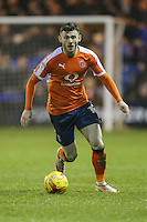 Jordan Cook of Luton Town during the Sky Bet League 2 match between Luton Town and Cheltenham Town at Kenilworth Road, Luton, England on 31 January 2017. Photo by David Horn / PRiME Media Images