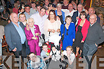 NEW ARRIVAL: Tommy Healy and Maura Griffin, Tralee (front centre) who had their baby son Ryan christened in St John's Church, Tralee, after to a celebration in the Rock Inn bar, Tralee, on Saturday afternoon last, with family and friends.