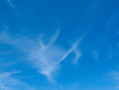 Cirrus clouds high above southern Spain.
