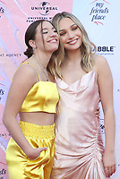 6 April 2019 - Los Angeles, California - Mackenzie Ziegler, Maddie Ziegler. the Ending Youth Homelessness: A Benefit For My Friend's Place  held at Hollywood Palladium.  <br /> CAP/ADM/FS<br /> &copy;FS/ADM/Capital Pictures