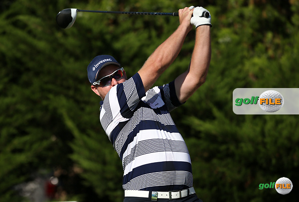Merrick Bremner (RSA) begins Round One of the 2016 Tshwane Open, played at the Pretoria Country Club, Waterkloof, Pretoria, South Africa.  11/02/2016. Picture: Golffile | David Lloyd<br /> <br /> All photos usage must carry mandatory copyright credit (&copy; Golffile | David Lloyd)