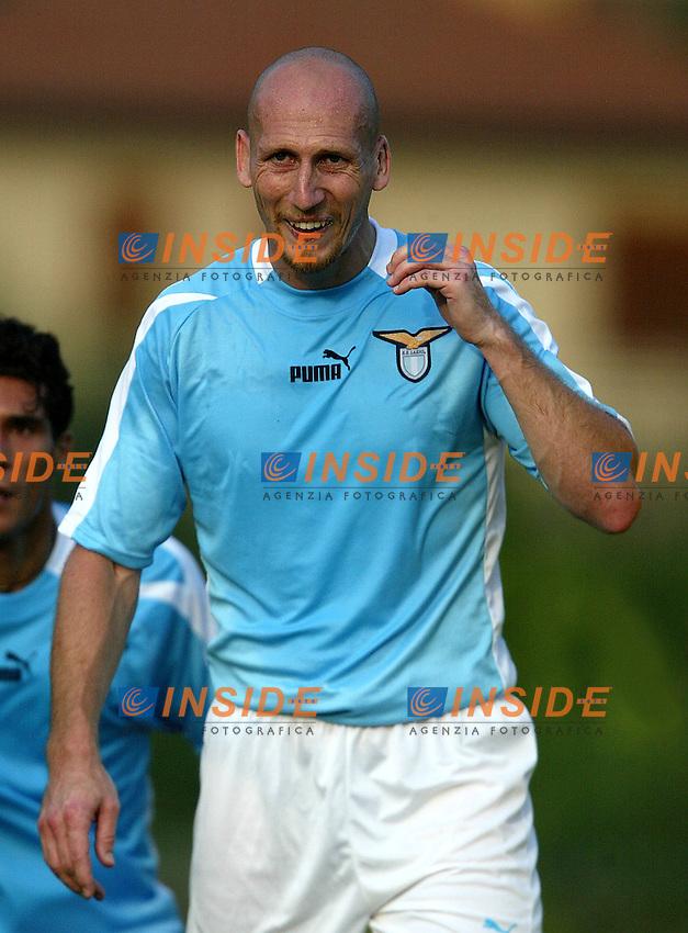 Norcia 6/8/2003<br /> Lazio - Foolad Mobarakeh (Iran) 4-1 <br /> Jaap Stam <br /> Foto Andrea Staccioli Insidefoto