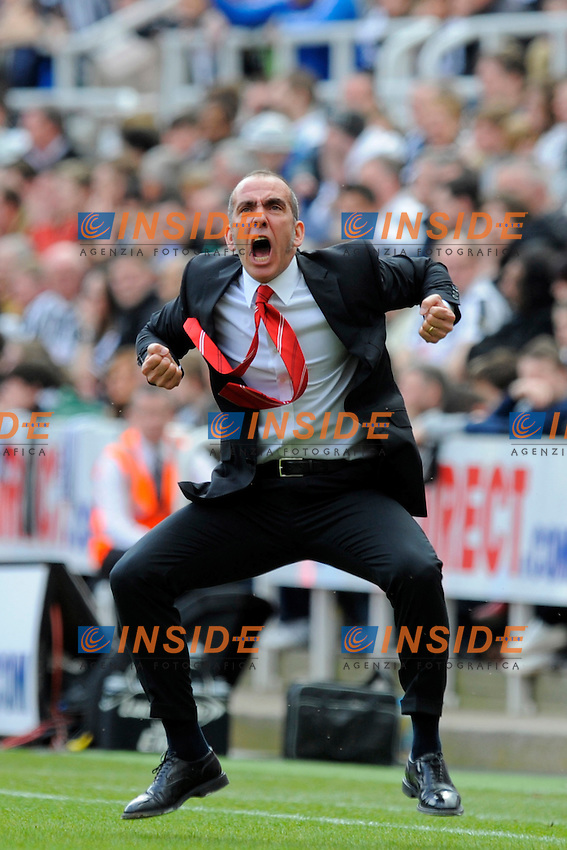 Sunderland manager Paolo Di Canio. Esultanza dopo gol del Sunderland .Barclays Premier League - Newcastle Utd vs Sunderland - St. James' Park - Newcastle - 14/04/13 - Picture Richard Lee/Sportimage/Insidefoto .ITALY ONLY