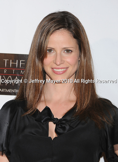 "HOLLYWOOD, CA. - November 17: Andrea Savage arrives at the ""BFF & Baby"" Official Film Wrap Party at the Colony on November 17, 2010 in Hollywood California."