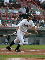 August 20, 2003:  Scott Tousa of the Erie Seawolves during a game at Jerry Uht Park in Erie, Pennsylvania.  Photo by:  Mike Janes/Four Seam Images