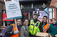 Junior Doctors strike, Childrens Hospital Birmingham, 10th Feb 2016