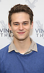 Brandon Flynn attends the photocall for the Vineyard Theatre production of 'Kid Victory' at Ripley Grier on January 5, 2017 in New York City.