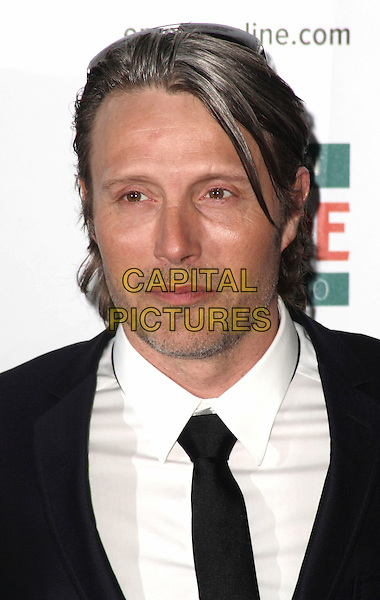 MADS MIKKELSEN.Jameson Empire Film Awards at the Grosvenor House Hotel, Park Lane, London - .March 28th 2010.headshot portrait black white stubble facial hair .CAP/JIL.©Jill Mayhew/Capital Pictures