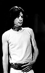 Rolling Stones 1969 Mick Jagger at Top Of The Pops<br /> © Chris Walter