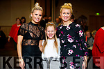 Kinga, Julia and Janet Grunau, pictured at the Dunnes Stores and Paul Galvin Shelby Autumn Winter Fashion Show, held at the Brandon Hotel, Tralee on Friday night last.