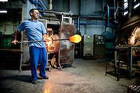 ITALY - VENICE - Murano Glass Blowers