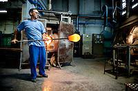 Italy - Murano - Glass Blowers