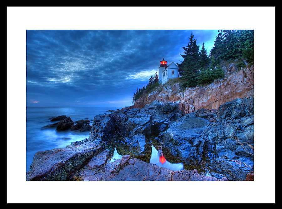 The famous Bass Harbor lighthouse in Acadia National Park located in Maine. Photo/Andrew Shurtleff
