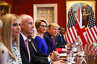 Business Roundtable Discussuion At St James Palace - President Trump State Visit to London