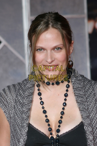 "VINESSA SHAW.Arrivals for the premiere of ""Flight Plan"" at El Capitan Theatre, Hollywood,.Los Angeles, 20th September 2005.portrait headshot grey gray cardigan shawl black beads top.Ref: ADM/ZL.www.capitalpictures.com.sales@capitalpictures.com.© Capital Pictures."