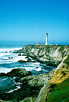 California: California Coast, Point Arena Lighthouse, Photo: camend104.Photo copyright Lee Foster, 510/549-2202, lee@fostertravel.com, www.fostertravel.com