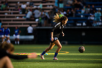 Seattle, WA - Sunday, September 24th, 2017: Katlyn Johnson during a regular season National Women's Soccer League (NWSL) match between the Seattle Reign FC and FC Kansas City at Memorial Stadium.