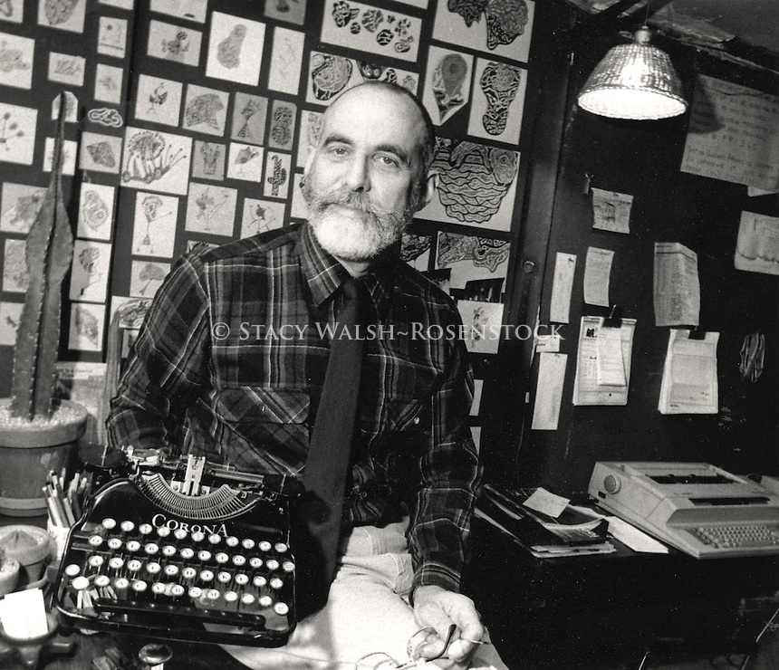 New York, NY - Circa 1988 - Typewriter Repair shop in Chelsea