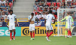 England's Lewis Baker looks on dejected after Germany's opening goal during the UEFA Under 21 Semi Final at the Stadion Miejski Tychy in Tychy. Picture date 27th June 2017. Picture credit should read: David Klein/Sportimage