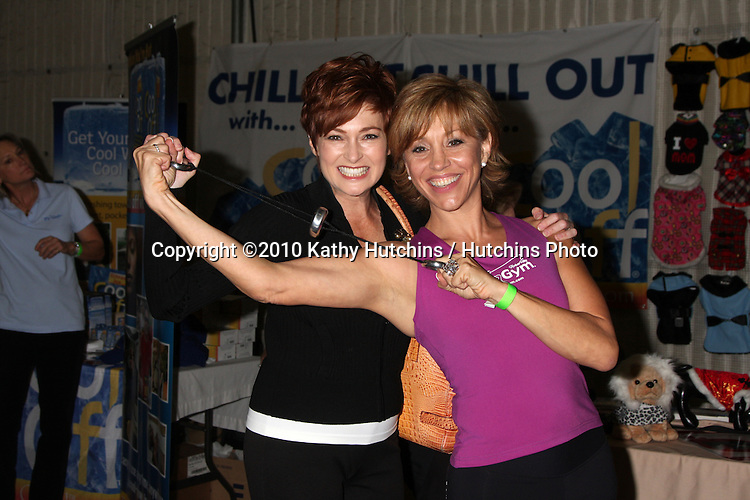 LOS ANGELES - NOV 20:  Carolyn Hennesy, Forbes Riley at the Connected's Celebrity Gift Suite celebrating the 2010 American Music Awards at Ben Kitay Studios on November 20, 2010 in Los Angeles, CA
