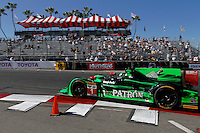 #1 HPD ARX-03b of Scott Sharp and Ryan Dalziel, Long Beach Grand Prix, Long Beach, CA, April 2014.  (Photo by Brian Cleary/ www.bcpix.com )  Long Beach Grand Prix, Long Beach, CA, April 2014.  (Photo by Brian Cleary/ www.bcpix.com )