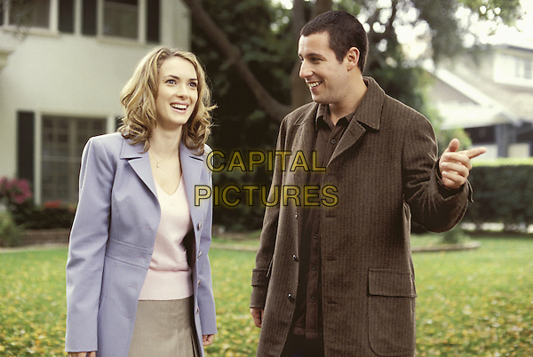 Winona Ryder & Adam Sandler.in Mr. Deeds .*Filmstill - Editorial Use Only*.CAP/NFS.Supplied by Capital Pictures.