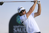 Darius Van Driel (NED) on the 6th tee during the 1st round of  the Saudi International powered by Softbank Investment Advisers, Royal Greens G&CC, King Abdullah Economic City,  Saudi Arabia. 30/01/2020<br /> Picture: Golffile | Fran Caffrey<br /> <br /> <br /> All photo usage must carry mandatory copyright credit (© Golffile | Fran Caffrey)