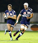 European Champions cup rugby match between Benetton Treviso and Racing Metro 92 at the Monigo - Treviso stadium in Treviso, on October 26, 2014. Pierre TEYSSOT