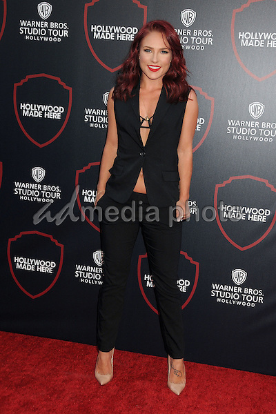 14 July 2015 - Burbank, California - Sharna Burgess. Warner Bros. Studio Tour Stage 48: Script to Screen Launch Event held at Warner Bros. Studios. Photo Credit: Byron Purvis/AdMedia