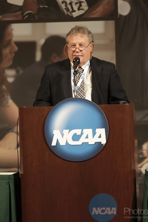 10 JAN 2012:  The Scholarly Colloquium held at the 2012 NCAA Convention held at the JW Marriott and Indianapolis Convention Center in Indianapolis, IN.  AJ Mast/NCAA Photos.Pictured: David Wiggins