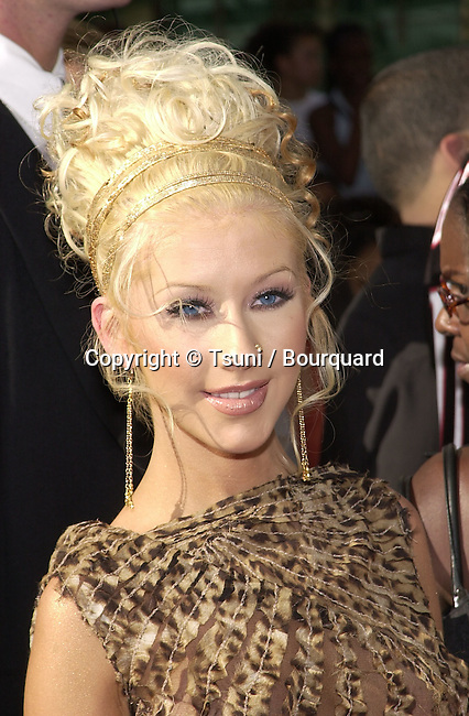 Christina Aguilera  arriving at The first BET  - Black Entertainment Television - Awards at the Paris Hotel in Las Vegas. The show didn't  run from Los Angeles but from Las Vegas.  June 19, 2001AguileraChristina16.jpg