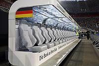 Bank der Deutschen Nationalmannschaft - 23.03.2018: Deutschland vs. Spanien, Esprit Arena Düsseldorf