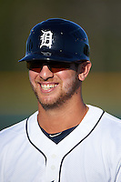 Lakeland Flying Tigers Ross Kivett (7) during a game against the Tampa Yankees on April 7, 2016 at Henley Field in Lakeland, Florida.  Tampa defeated Lakeland 9-2.  (Mike Janes/Four Seam Images)