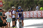 Pieter Serry (BEL) Quick-Step Floors on the slopes of Sierra de la Alfaguara  during Stage 4 of the La Vuelta 2018, running 162km from Velez-Malaga to Alfacar, Sierra de la Alfaguara, Andalucia, Spain. 28th August 2018.<br /> Picture: Eoin Clarke   Cyclefile<br /> <br /> <br /> All photos usage must carry mandatory copyright credit (&copy; Cyclefile   Eoin Clarke)