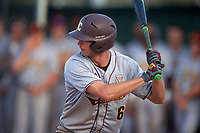 Central Michigan Chippewas first baseman Alex Borglin (6) at bat during a game against the Boston College Eagles on March 8, 2016 at North Charlotte Regional Park in Port Charlotte, Florida.  Boston College defeated Central Michigan 9-3.  (Mike Janes/Four Seam Images)