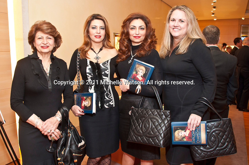 Bulgari hosts a booking signing reception for Joanne King Herring