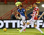 Daniel Candeias scores goal no 3 for Rangers