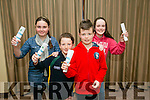 Donnacha Buttimer, Liam O'Connell, Anna Kerdzaia and Saoirse Maloney enjoying the Tralee Parnells fundraiser Race Night at the Rose  Hotel on Saturday