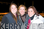 NIGHT AT THE DOGS: Enjoying a great time at the Kingdom Greyhound Stadium Night at the Dogs on Saturday l-r: Erin Mooney, Marybeth Cavanaugh and Allison Smolinsky, Doon, Ballyheigue..