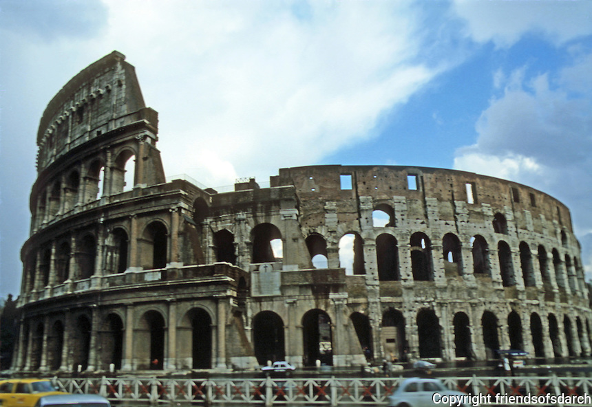 Italy: Rome--The Coloseum, 70-80 A.D.