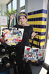 "Days Of Our Lives Louise Sorel shows off Jane Elissa's handbags at Promo shoot for the annual Broadway Extravaganza in honor of Jane Elissa's Candidacy for Leukemia & Lymphoma Society Woman of the Year and for Hats for Health on April 23, 2012 at the Marriott Marquis Hotel, New York City, New York. In the shoot are Days of Our Live Louise Sorel ""Vivian"", Broadway Bonnie and Clyde Melissa VanDer Schyff and Clay Elder, Dale Badway (Creator Fame-Wall) and host for the upcoming event, Corey Brunish (producer of Bonnie & Clyde) and Billy Freda, Missy Modell (Photo by Sue Coflin/Max Photos)"