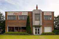 Old Coca Cola bottling plant in Washington NC