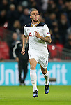 Tottenham's Toby Alderweireld in action during the Champions League group match at Wembley Stadium, London. Picture date December 7th, 2016 Pic David Klein/Sportimage