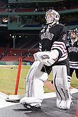 Troy Grosenick (Union - 1) - The Union College Dutchmen defeated the Harvard University Crimson 2-0 on Friday, January 13, 2011, at Fenway Park in Boston, Massachusetts.
